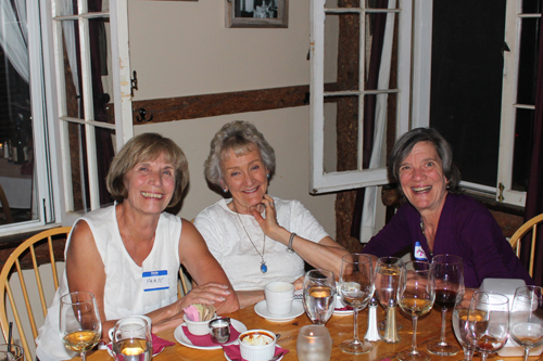 Fran Black and Dori Painter and Mary Pat DuWald