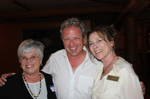 LInda Kirpatrick with Kevin Ruble and Mel Nuchols