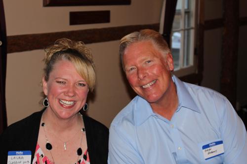 Laura and Brian Roberts