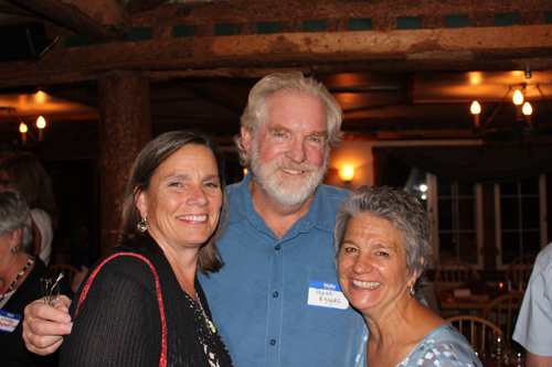Lori Frease with Peter and Peggy Eggers